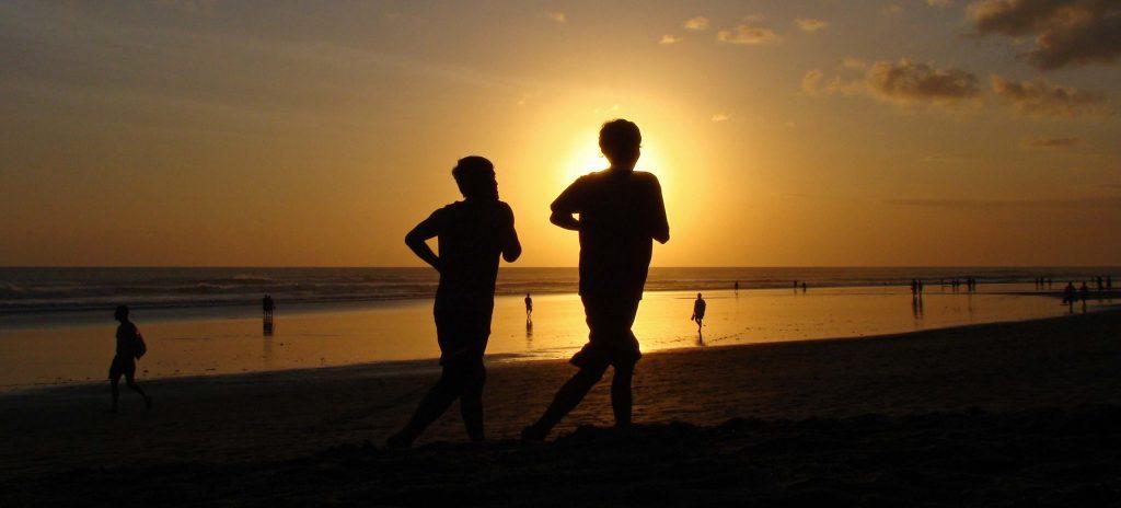 Kuta Bali Coucher de soleil Seminyak