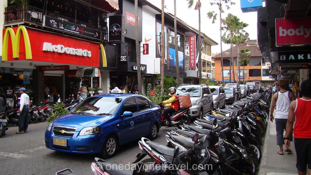 Kuta Bali centre