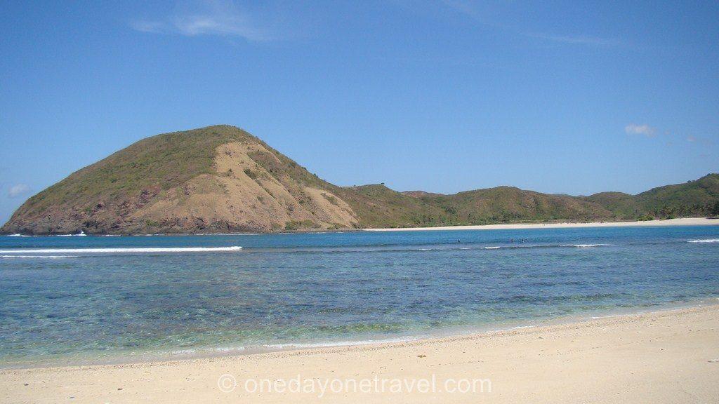 Kuta Lombok mer turquoise plage