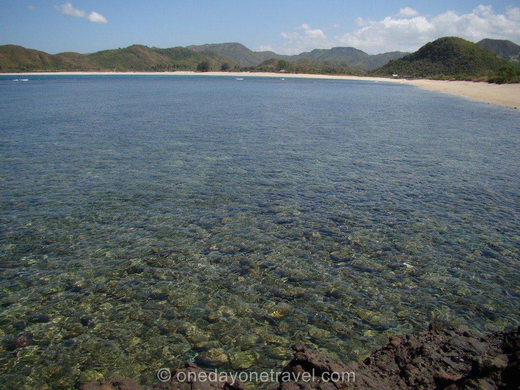 Kuta Lombok plage croissant