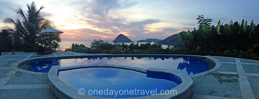 Labauan Bajo blog voyage piscine
