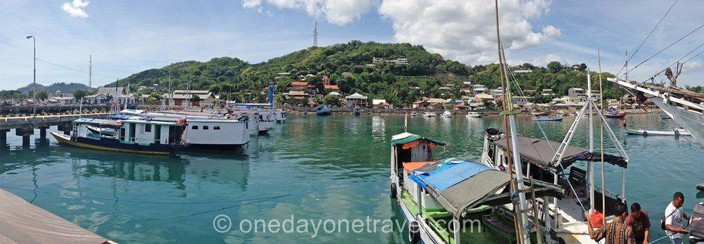 Labauan Bajo port blog voyage