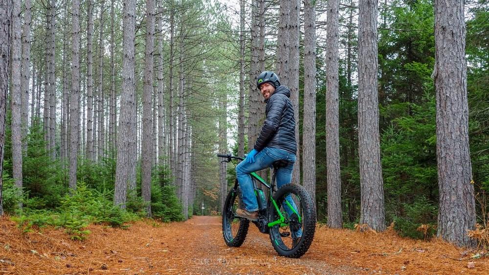 Visiter les Laurentides vélo