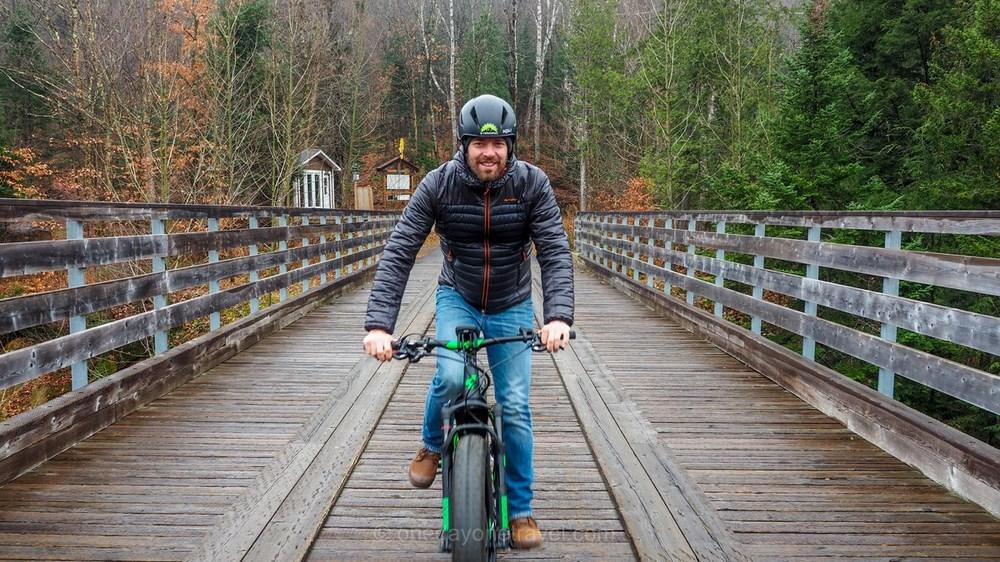 Visiter les Laurentides vélo fatbike