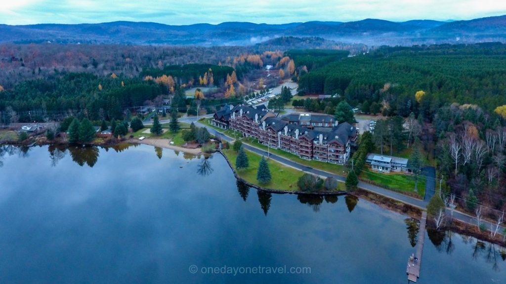 Visiter les Laurentides hôtel le Grand Lodge