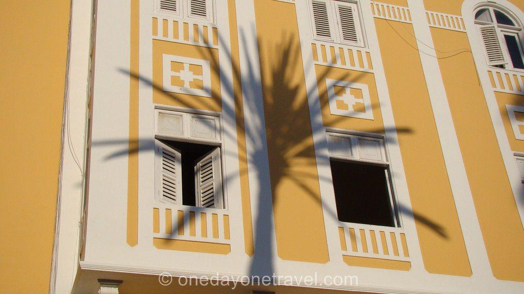 Las Palmas de Gran Canaria palmier façade