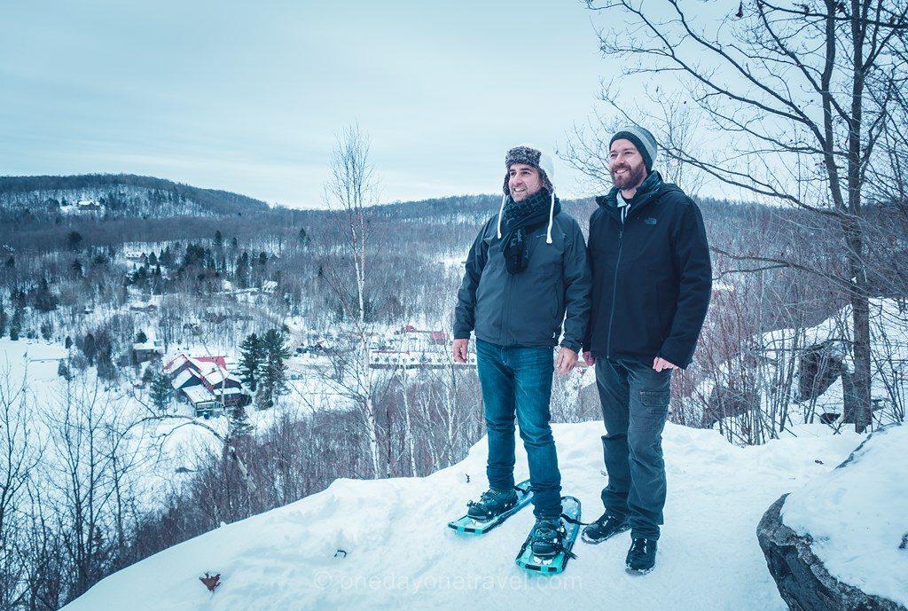 Laurentides en hiver Morency Franck Richard