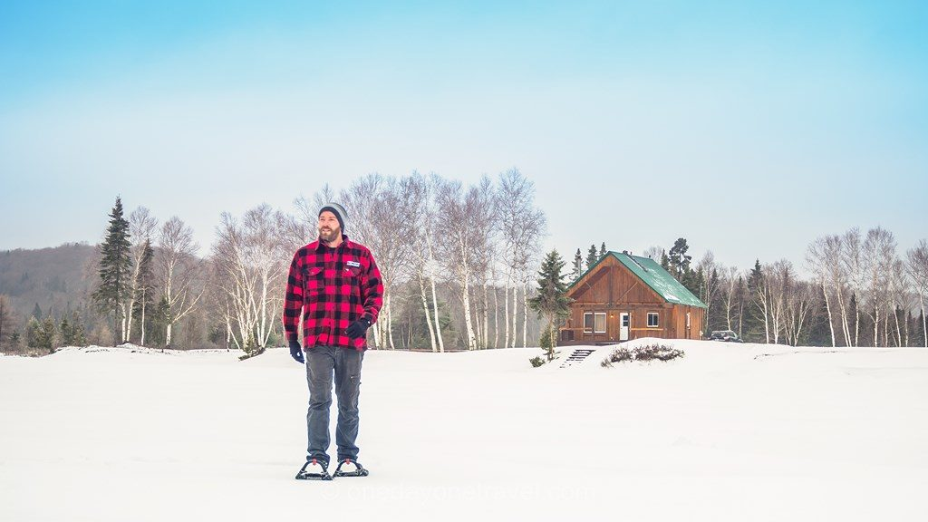 Laurentides hiver Mekoos Richard lac gelé