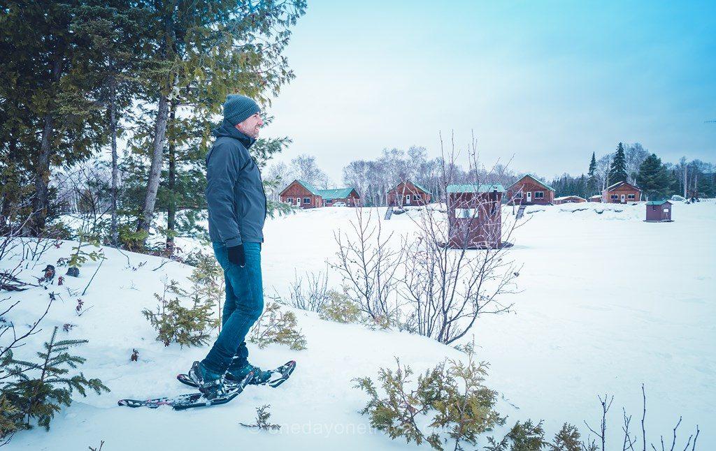 Laurentides en hiver Mekoos Franck raquettes