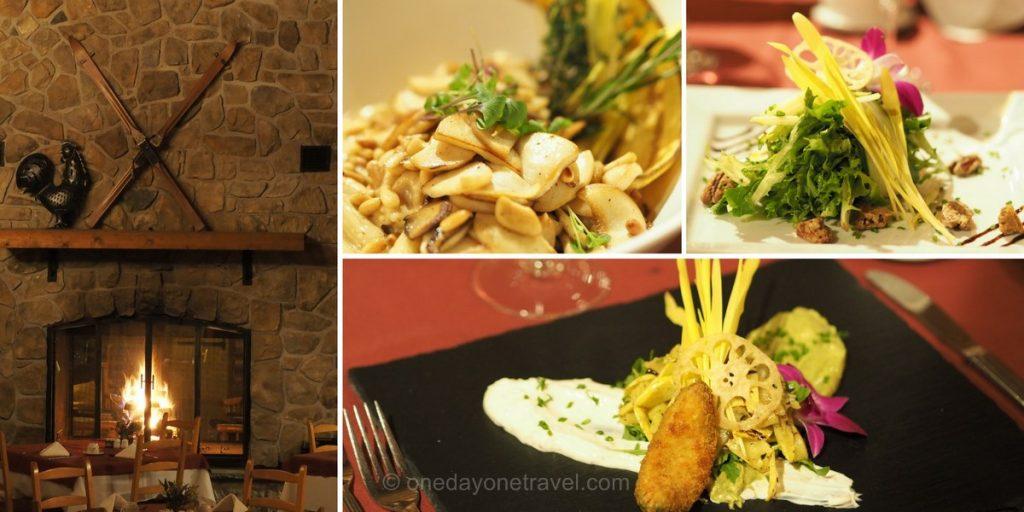 Le grand Lodge Laurentides restaurant 2