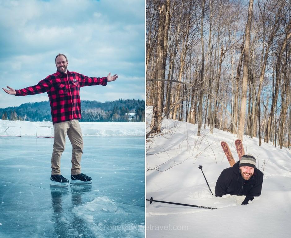 Les laurentides en hiver assurance chapka resort blog voyage quebec