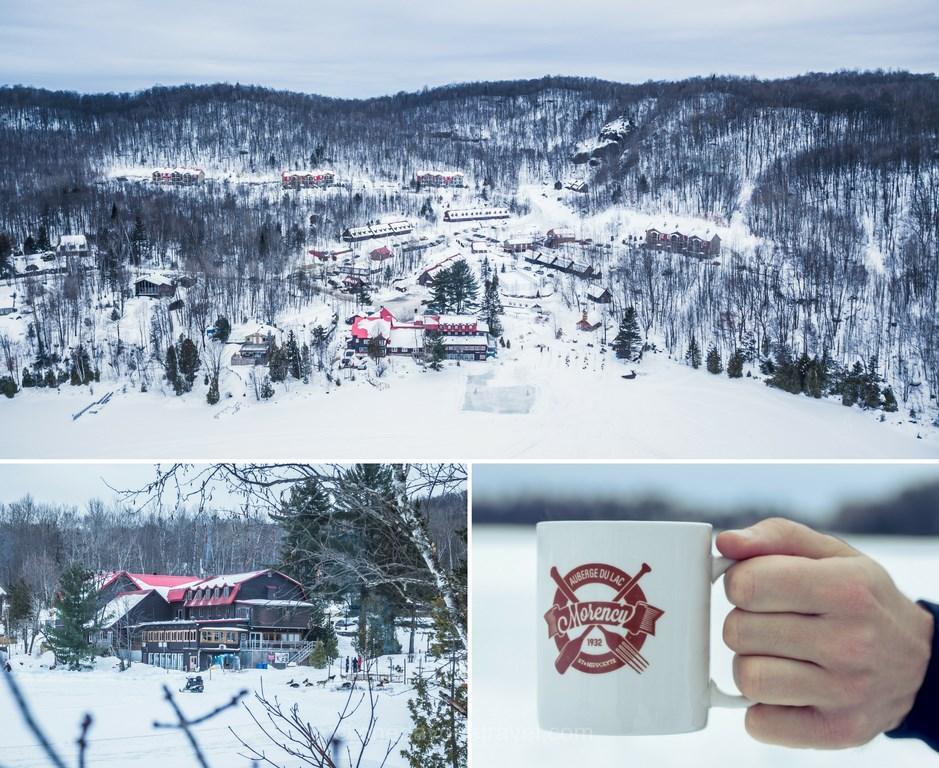 Laurentides à winter inn lake morency blog voyages quebec