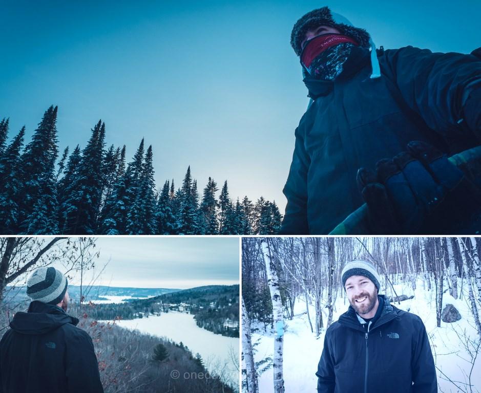 Laurentides en hiver habit blog voyage quebec