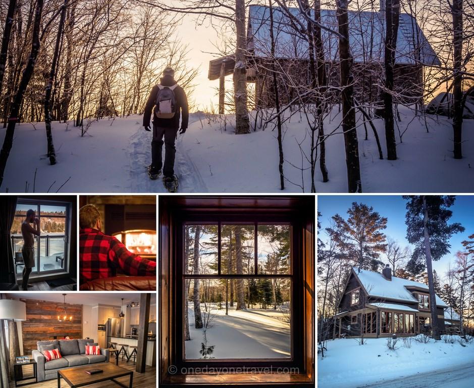 Les laurentides en hiver hebergement blog voyage quebec