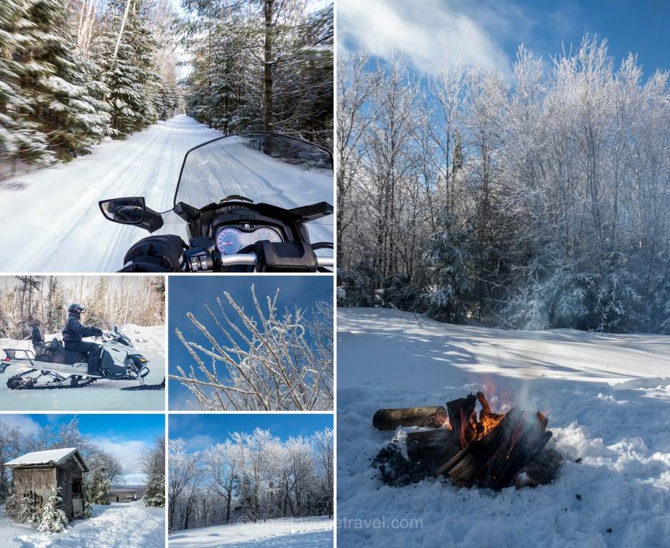 Les laurentides en hiver meekos motoneige blog voyage quebec