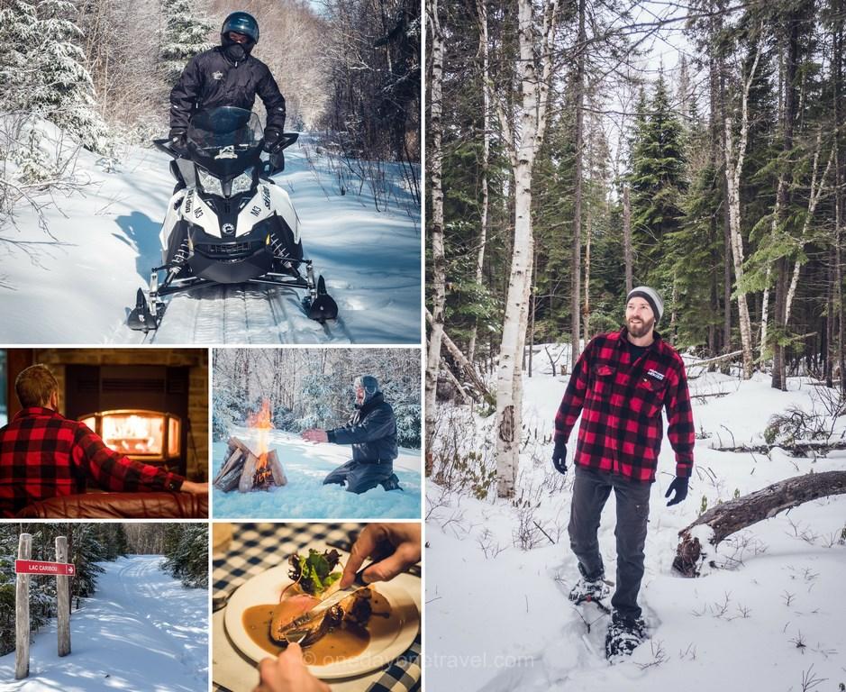 Les laurentides en hiver meekos pourvoirie blog voyage quebec