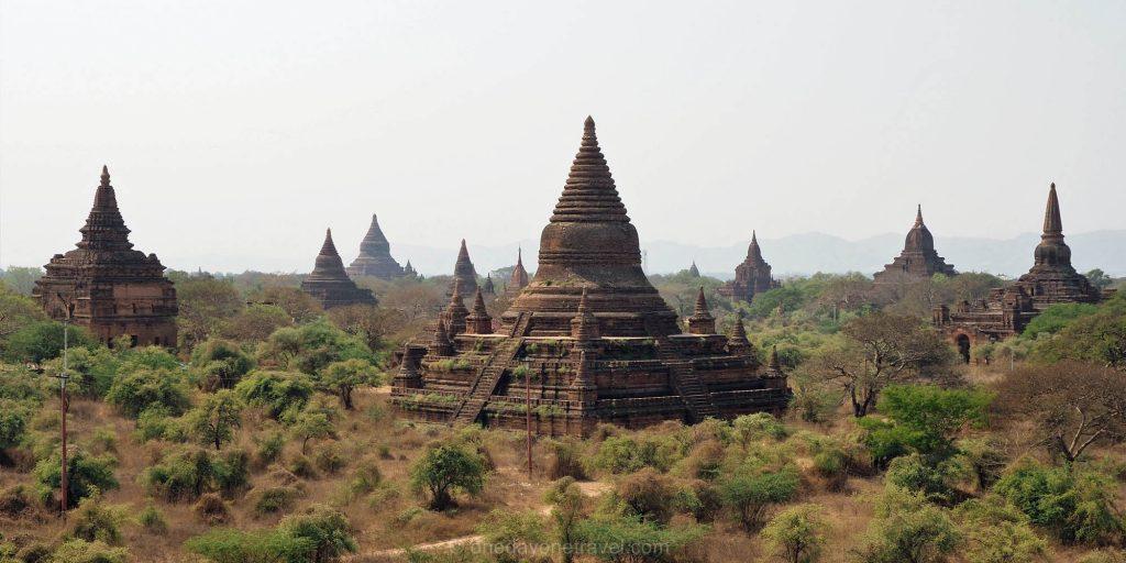 Les milliers de temples de Bagan