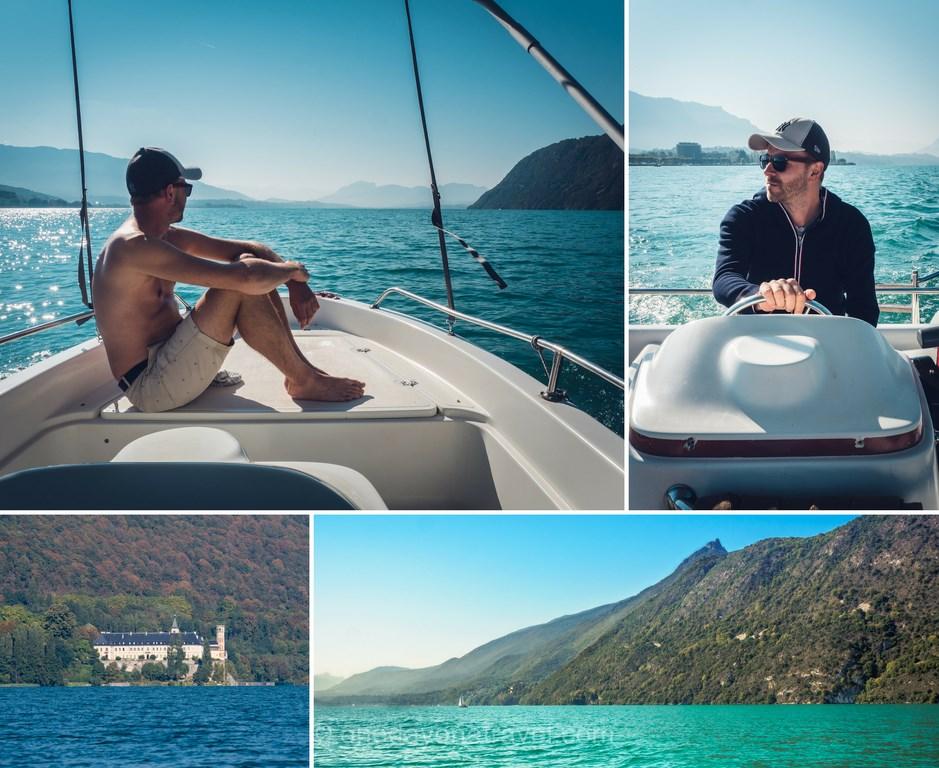 Louer un bateau sans permis - Aix-les-Bains lac du Bourget