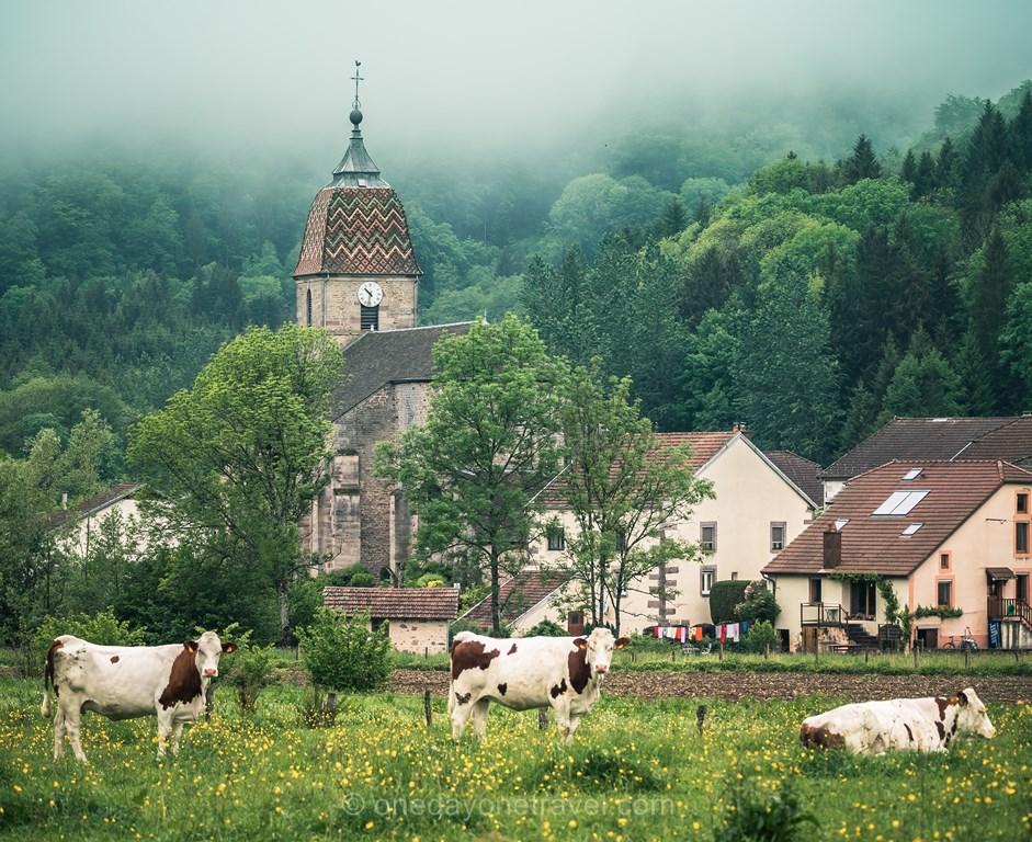 Road trip Bourgogne Franche Comté Blog Voyage