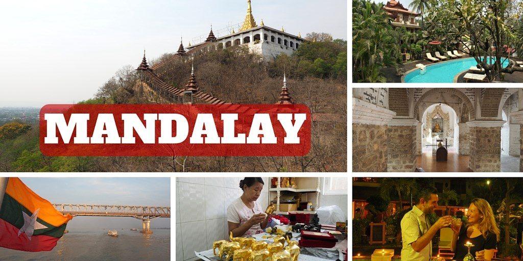 Mandalay voyage Myanmar itineraire birmanie