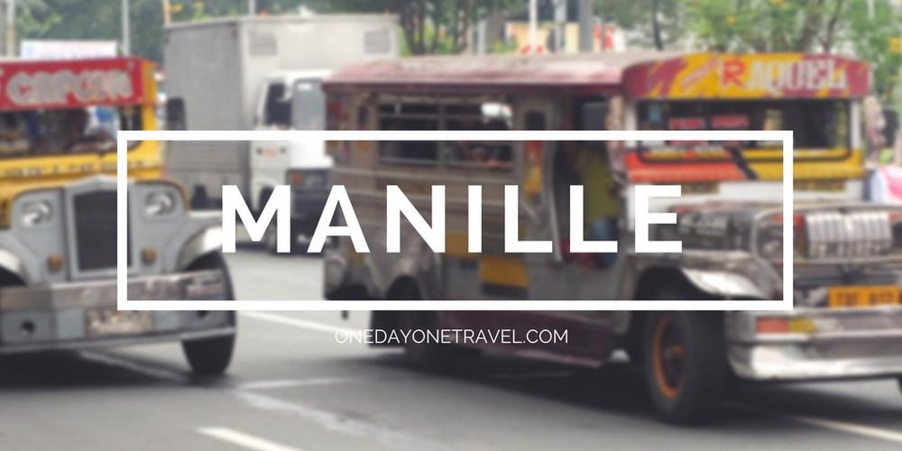Visiter Manille blog voyage Philippines