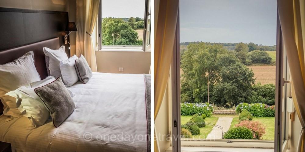 Manoir Kerhuel Millevista hotel avec vue blog voyage