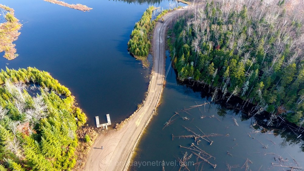 Mauricie lac blog drone voyage OneDayOneTravel