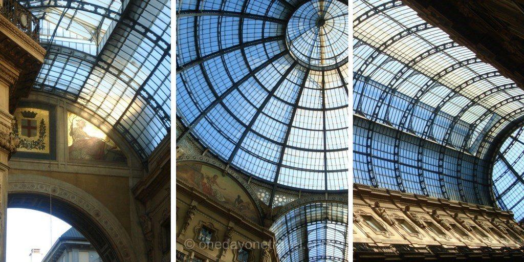 Milan Galerie Vittorio Emanuele II Blog Voyage OneDayOneTravel