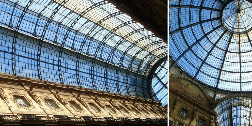 Milan architecture Galerie Vittorio Emanuele II Blog Voyage OneDayOneTravel