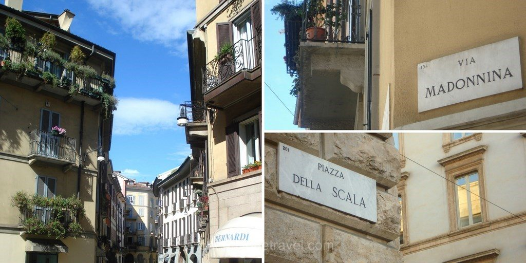 Milan rue places