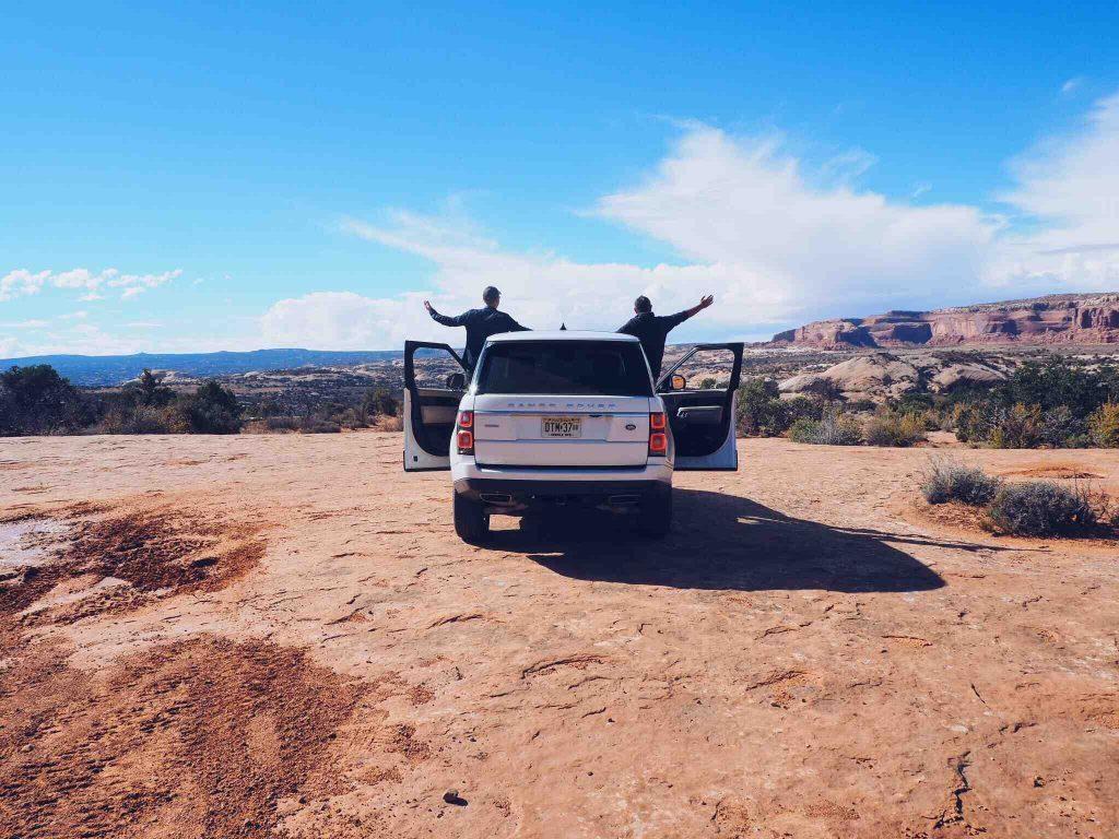 Moab Hors Piste Utah Land Rover Franck Richard