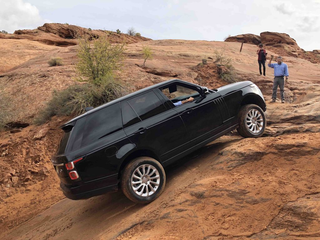 Moab Hors Piste Utah Land Rover off road