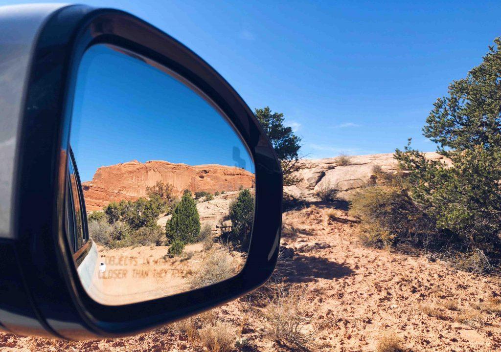 Moab Utah Hors Piste rétro Land Rover Blog Voyage