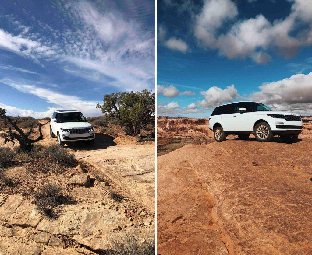 Moab conduite Hors Piste Utah Land Rover