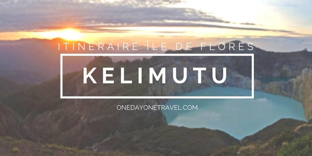 Moni volcan Kelimutu itinéraire ile de flores blog voyage indonesie