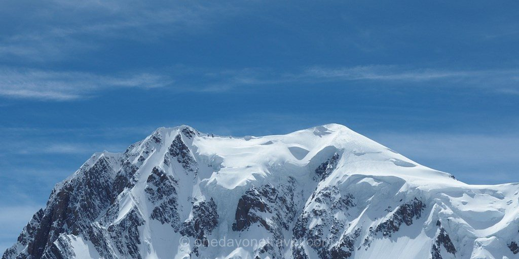 Mont Blanc vu depuis le SkyWay