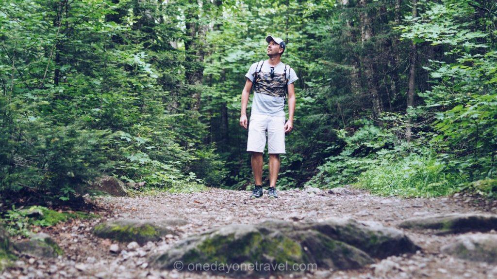 Mont-Tremblant Laurentides randonnée forêt Richard