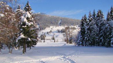 Photo of itinérance dans les montagnes du Jura en hiver