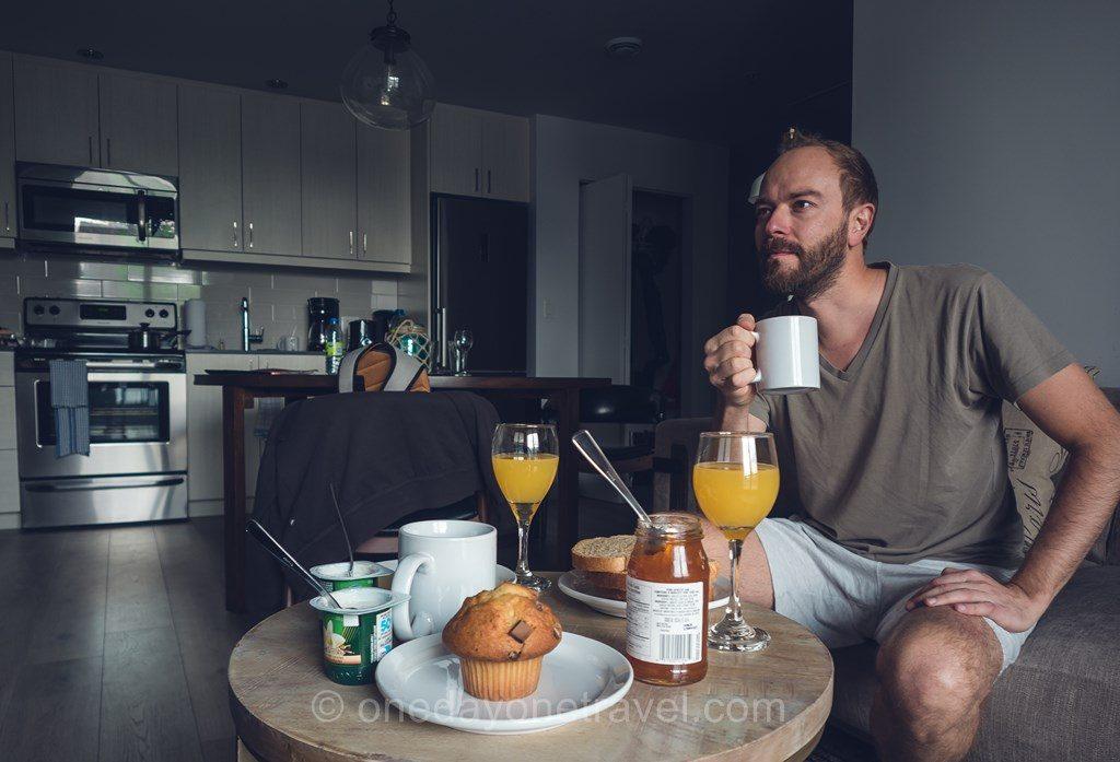 Montréal Richard petit-déjeuner
