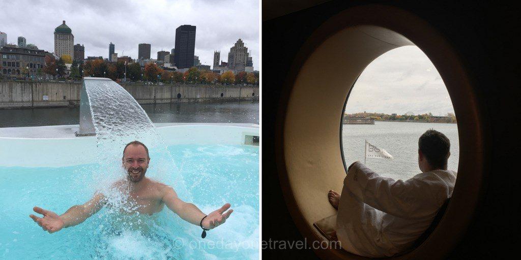 Montréal bota bota spa blog voyage