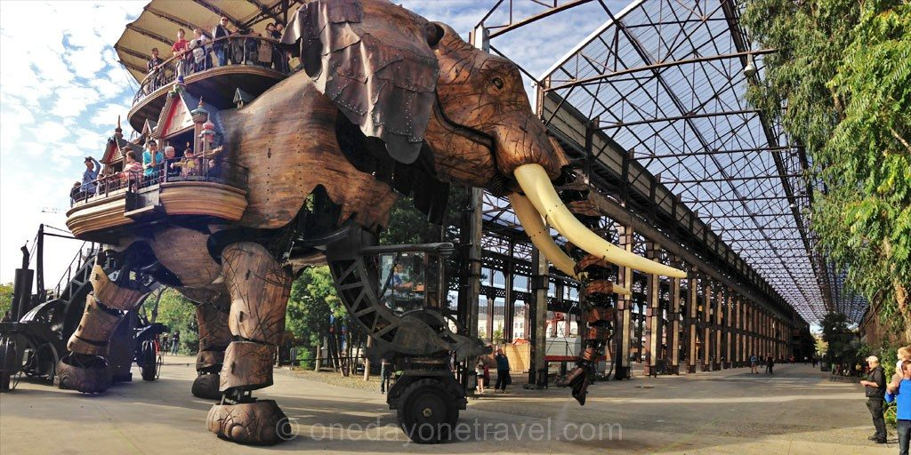 Nantes elephant mecanique