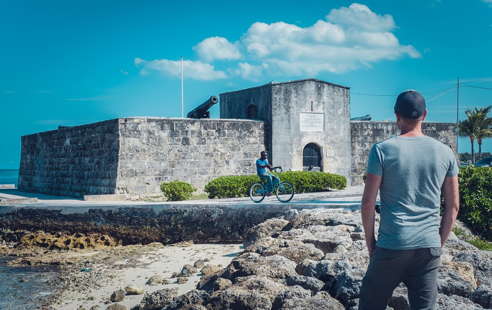 Voyage aux Bahamas Nassau Richard fort
