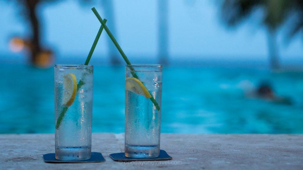 Negros Dumaguete cocktails piscine