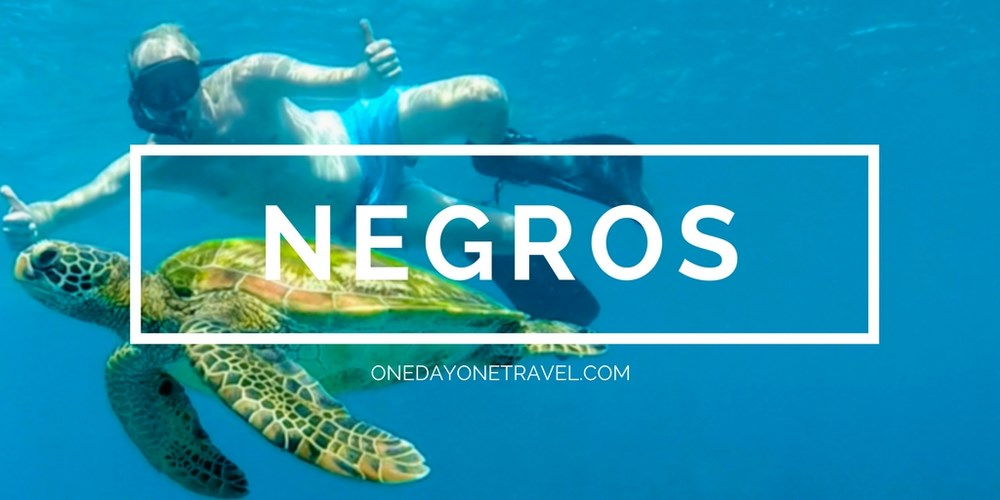Ile de Negros blog voyage Philippines