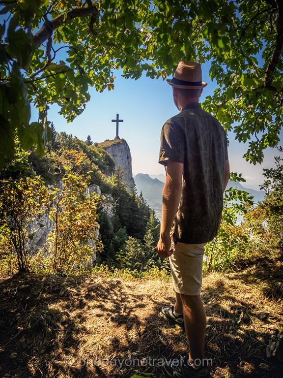 Vue sur Croix du Nivolet