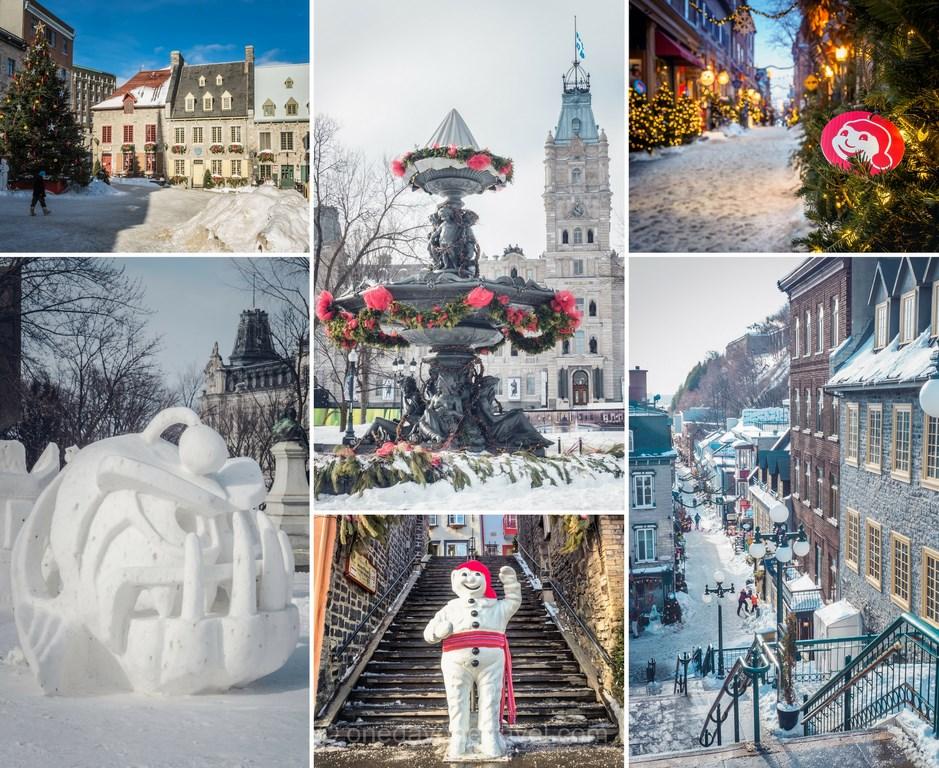 Où voyage en 2019 Carnaval Québec hiver