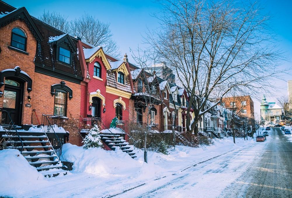 Où voyage en 2019  Montréal neige