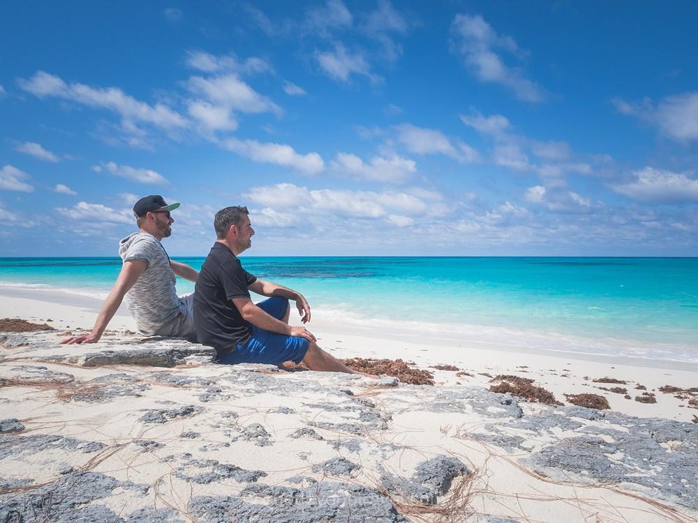 Où voyage en 2019 San Salvador plage Bahamas