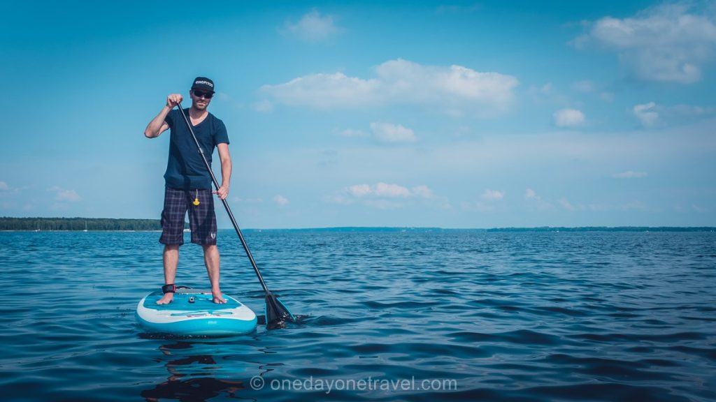 Oka Laurentides paddle Richard