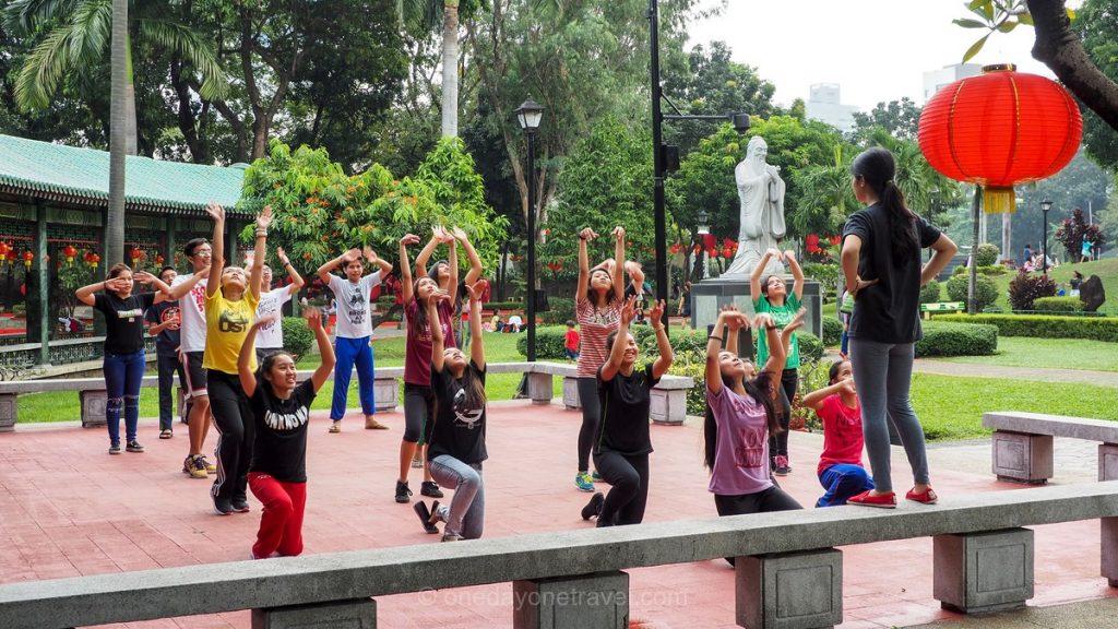 Visiter Manille et le parc Rizal